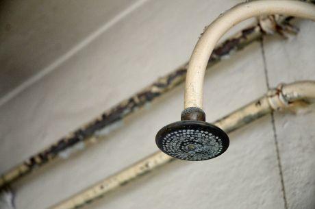 Duschbad: in der Ohligser Badeanstalt