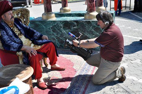 Die Huldigung von Sultan Suleyman im Medienzeitalter