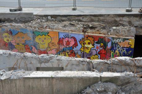 Straßenunterführung am Solinger Rathaus: ein Angstraum weniger !?