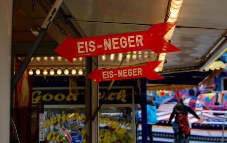 Eis-Neger: mit Fettglasur