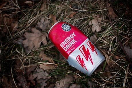 Energy Drink: am Straßenrand