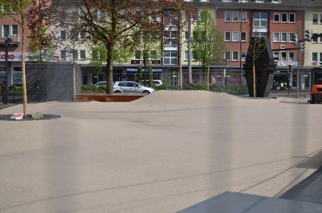Neugestaltung: Ende der unteren Hauptstraße
