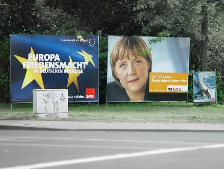 Europawahl: am 13. Juni 2004