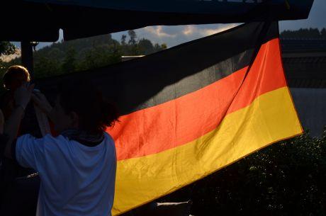 Ohne Kontrolle geht nix: Fahenkontrolle am Pfaffenberg