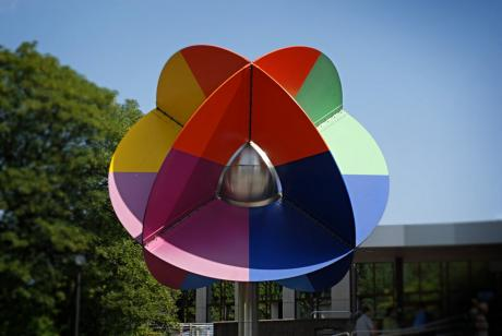 Oberhoffsche Farbkugel am städtischen Klinikum