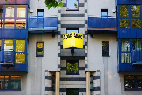 Häuserfassade: an der Goerdelerstraße gegenüber dem Polizeihochhaus