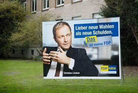 """""""Lieber neue Wahlen, als neue Schulden."""""""