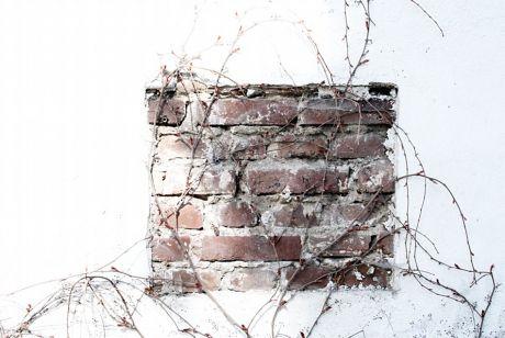 unverputztes Mauerwerk