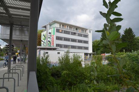 die Südseite des Felix-Gebäudes: eher im Originalzustand
