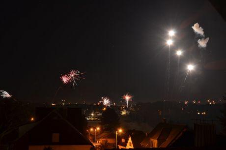 Feuerwerkauftakt
