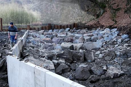 Fischtreppe: Bauzustand sehr weit fortgeschritten