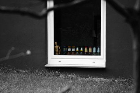 Flaschen-Parade: Und als Anführer ein Zweibeiner