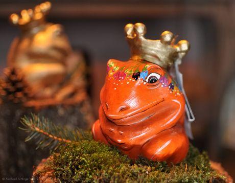 Froschkönig in rot