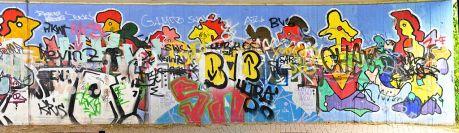 Tunnel Goudastraße: der ursprüngliche Entwurf des künstlerischen Anstriches lag bei Jan Boomers