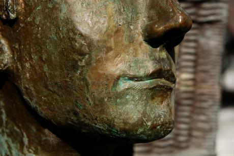Gesicht: Der Brezelbäcker