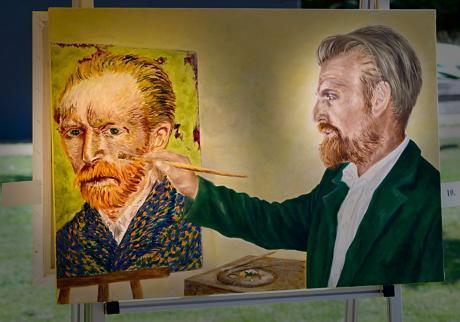 Vincent von Gogh: führt André Kern den Pinsel (Lara Leon-Ser)