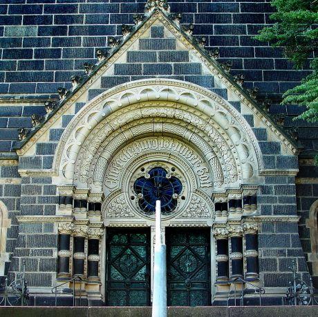 Portal der Solinger Lutherkirche