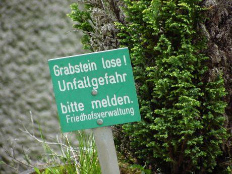 Grabsteine lose