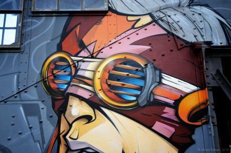 Graffito: Der Visor