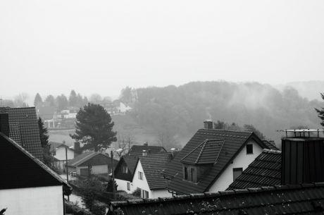 mein Dorf im Morgengrauen
