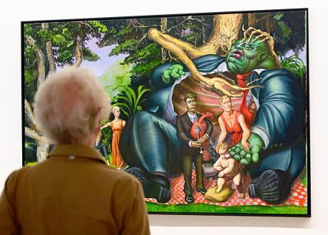 Greedy Picknick, 2009: Öl auf Leinwand - Joseph Sracic