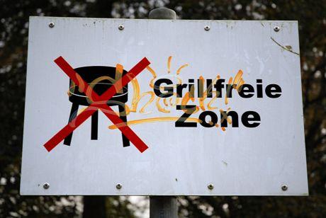grillfreie Zone