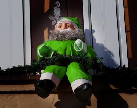 Chamäleon: kein Wurmzüngler, nur der Weihnachtsmann