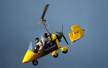 """Gyrocopter // Tragschrauber: James Bond und """"Little Nellie"""""""