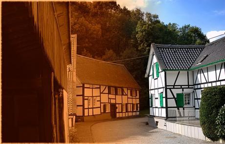Haasenmühle / Fachwerk: (Foto: Michael Tettinger)
