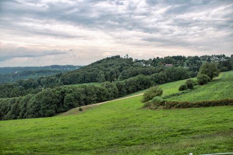 Blick vom Pfaffenberg auf Hästen