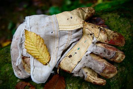 Der Schuh für die Hand