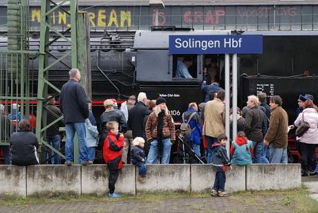 Solingen Hbf: ex Solingen-Ohligs, aber immer noch in Ohligs