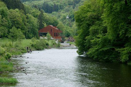 Haus Müngsten im Brückenpark an der Wupper
