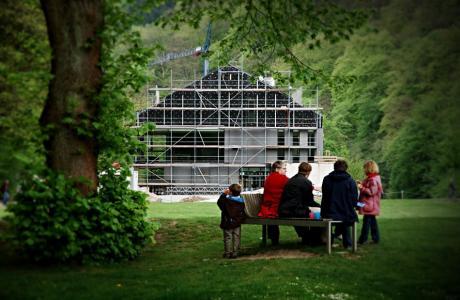 Haus Müngsten: Eröffnung zum Brückenparkzauber Pfingsten 2010