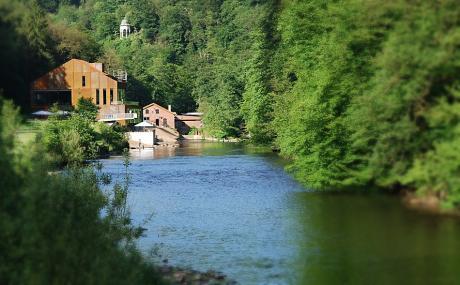 Haus Müngsten im Brückenpark an der Wupper: inkl. Schaltkotten und Diederichstempel