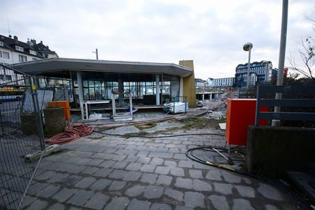 Der Hedderich-Pavillon: Foto vom 10.12.2011