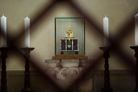 Reliquiar: mit dem Herzen des hl. Engelbert