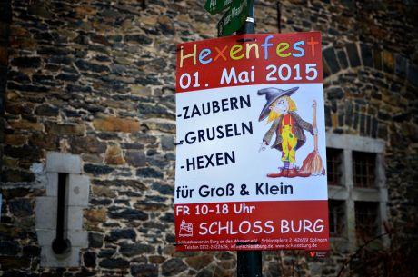 Hexenfest am 1. Mai