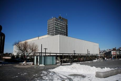 ehemaliges Karstadtgebäude: samt Turmhotel