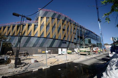 """""""Costa Hofgarten"""": Noch steht der neue Dampfer im Trockendock zur Ausrüstung"""