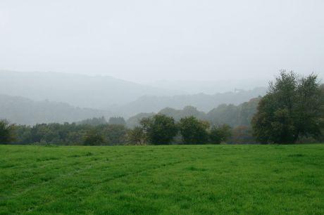 Haus Hohenscheid (16.10.2013): mal wieder Nebel im Tal der Wupper