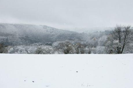 Haus Hohenscheid (06.12.2013): Erster Schnee im Dezember