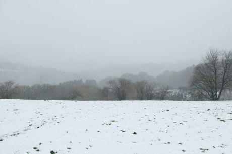 Haus Hohenscheid (07.12.2013): Es pieselt schon wieder, nix Schnee