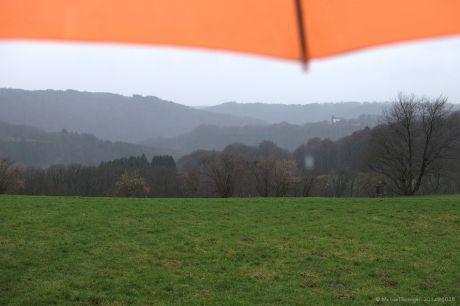 Haus Hohenscheid (01.02.2014): Es regnet!