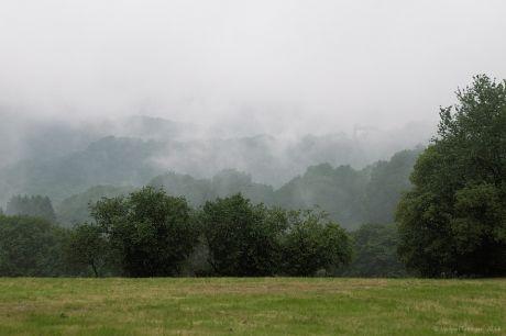 Hohenscheid in den Wolken