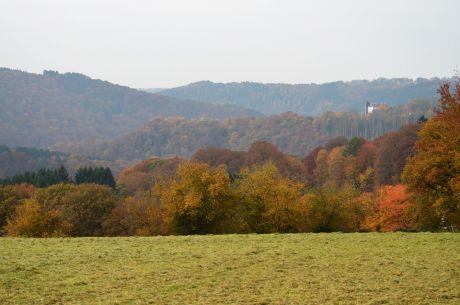 Hohenscheid am 30. Oktober 2015: rostend