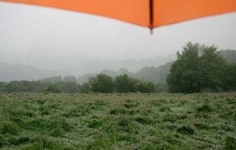 Hohenscheid am 23. Mai 2016: es regnet noch immer, oder schon wieder?!