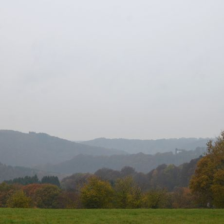 Hohenscheid am 9. November 2016: Mittwoch - Regen
