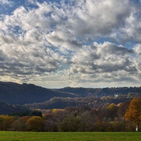 Hohenscheid am 18. November 2016: Freitag mit Aprilwetter