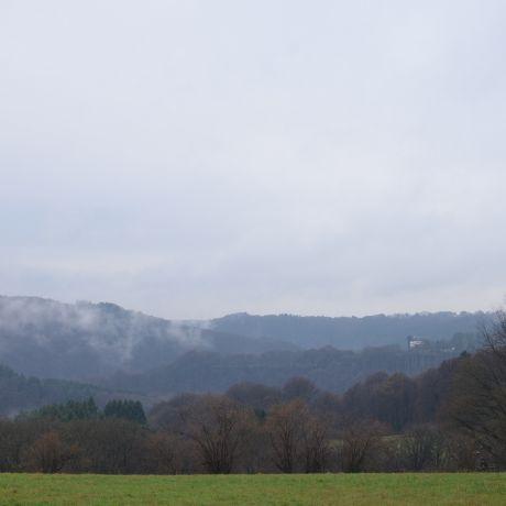 Hohenscheid am 22. Dezember 2016: regnerischer Donnerstag bei +4°C